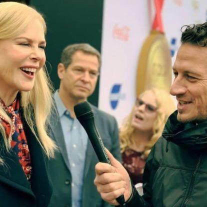 Vastag Csaba Nicole Kidmannel interjúzott