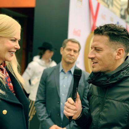Vastag Csaba kinézett a Golden Globe-ra és meginterjúvolta Nicole Kidmant