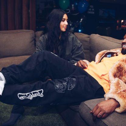 Kiderült Kim Kardashian és Kanye West új gyerekének neme