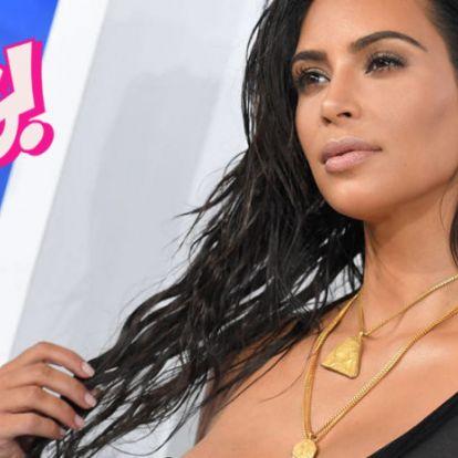 Kim Kardashian durván beégette magát