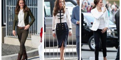 Stílusiskola: outfit ötletek Kate Middleton-tól