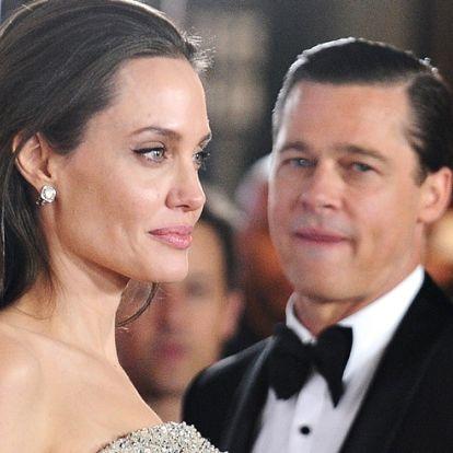 Brad Pitt nem mehetett el a lánya születésnapjára?