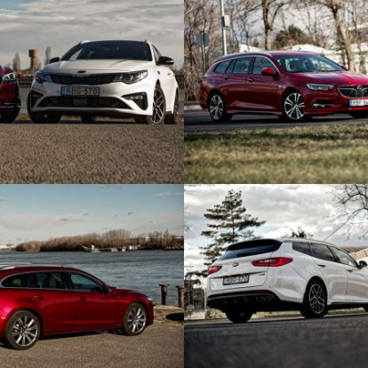 SUV-gyilkosok – Kia Optima vs. Mazda6 vs. Opel Insignia teszt