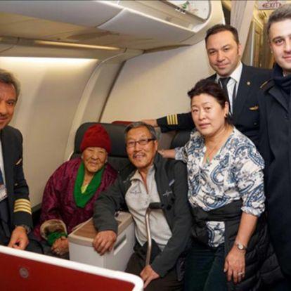 102 évesen repülte át a fél világot