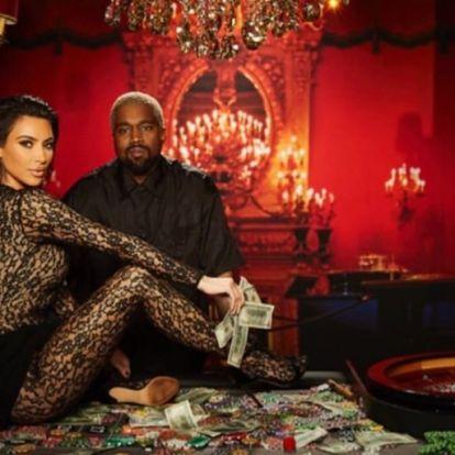 Kim Kardashian ruhájára nincsenek szavak
