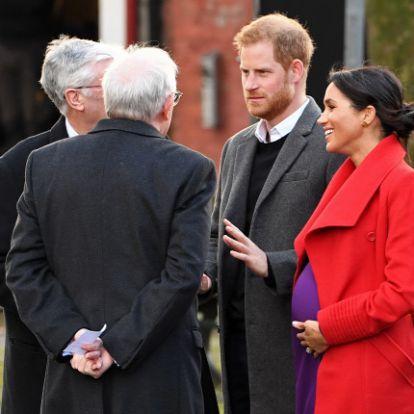 Egyre nagyobb Meghan Markle pocakja: friss fotók készültek a hercegnéről