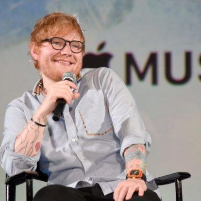 Ed Sheeran felhagyott a füvezéssel