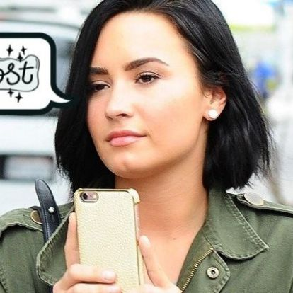 Demi Lovato #10YearChallenge fotója a legmenőbb