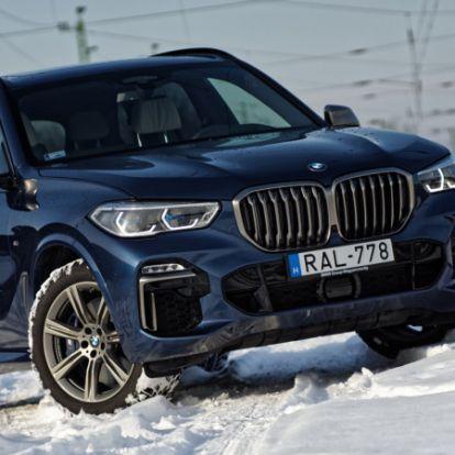 Pofátlanul jó autó, pofátlanul drágán – BMW X5 M50d (2019) teszt