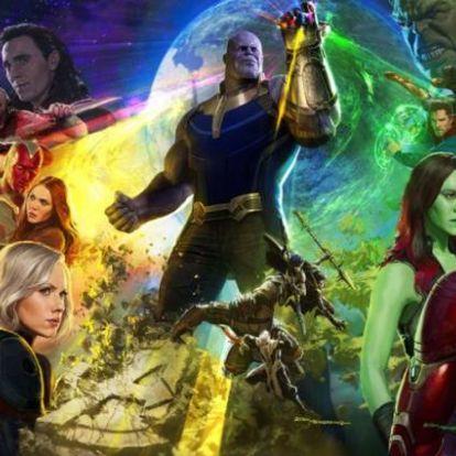 A Marvel filmes univerzum is beszállt a 10 év kihívásba