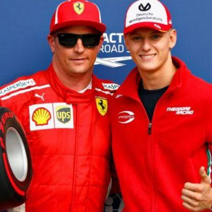 Mick Schumacher a Ferrarié