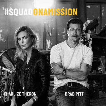 Brad Pitt már egy hónapja randizgat Charlize Theronnal
