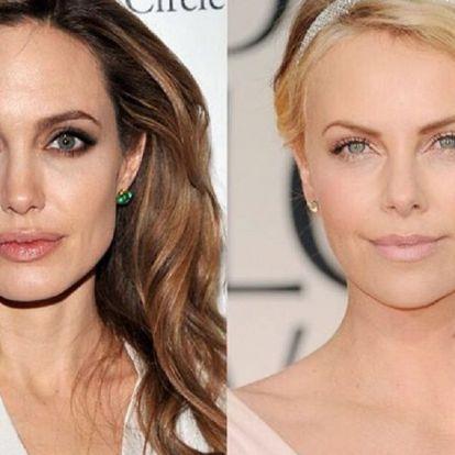 Angelina évek óta utálja Brad Pitt új barátnőjét, Charlize Theront