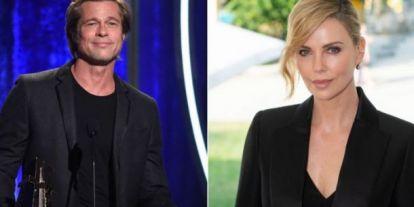 Brad Pitt új barátnője és exe: Charlize Theron és Angelina Jolie viszálya már évek óta tart