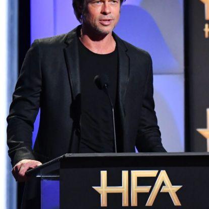 Brad Pitt Charlize Theronnal randizik
