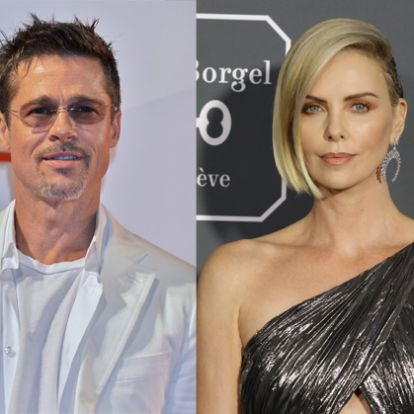 Egy párt alkot Brad Pitt és Charlize Theron - Mafab.hu
