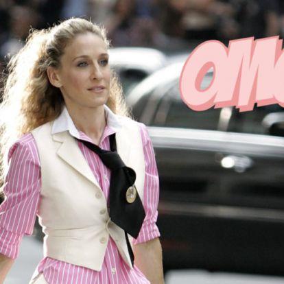 Sarah Jessica Parker újra Carrie Bradshaw bőrébe bújt