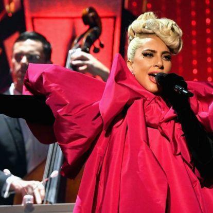 Lady Gaga beszólt az alelnöknek koncertjén