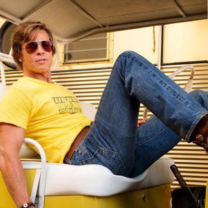 Kijött pár embertelenül jó fotó Tarantino Volt egyszer egy Hollywoodjából