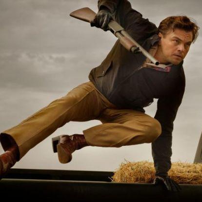 Jelenetfotók érkeztek az új Tarantino filmből