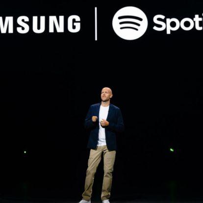 Kéz a kézben próbálja legyőzni az Apple-t a Spotify és a Samsung