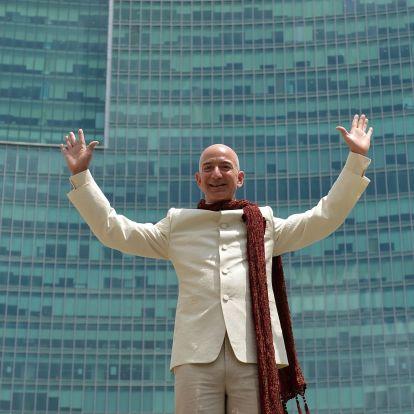 Jeff Bezos, a világ leggazdagabb embere a vagyona 0,0906 százalékát adományozza el