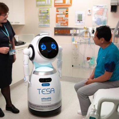 Tánccal vidítják fel a robotok a beteg gyerekeket