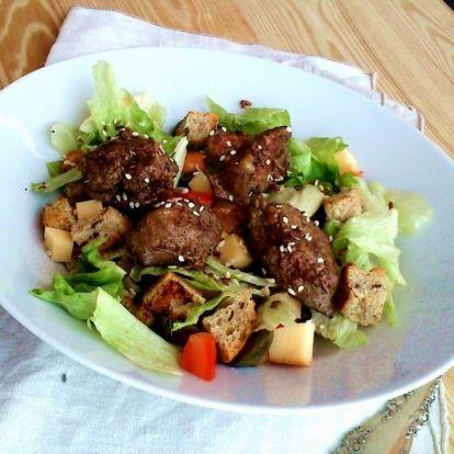 Laktató saláta ebédre, 10 perc alatt
