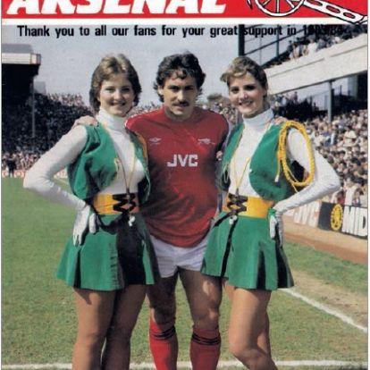 Programfüzetek címlapjai: Arsenal