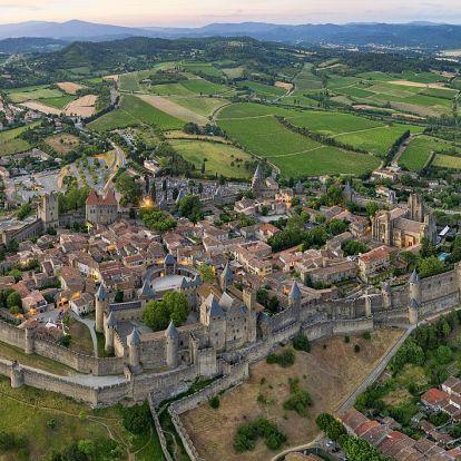 Carcassonne erődvárosa - kalandozás Dél-Franciaországban