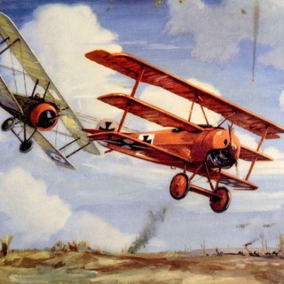 Az első világháború ászpilótái