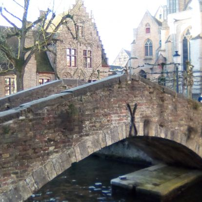 Arany középkor - városnézés a mesebeli hangulatú Brugge-ben