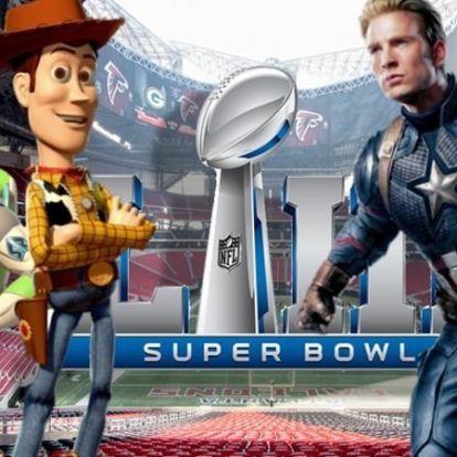 A Super Bowl elhozta a legfrissebb előzeteseket is