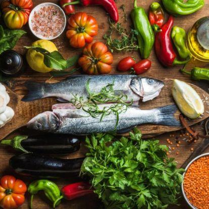 Az egyik legegészségesebb diéta: a mediterrán étrend