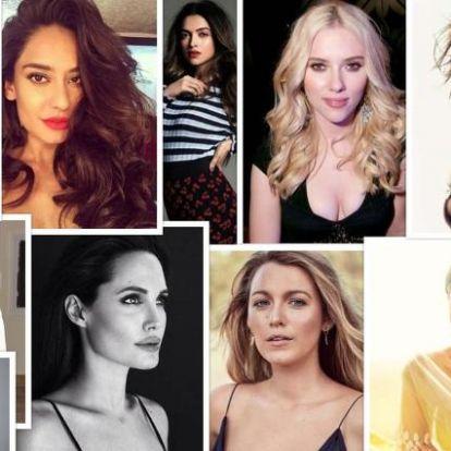 A világ tíz leggyönyörűbb nője - 2018