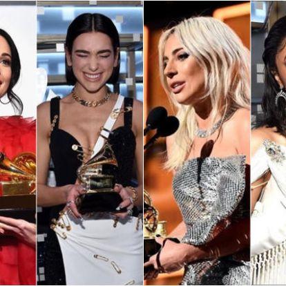 Lady Gaga, Dua Lipa, Cardi B, Childish Gambino és Kacey Musgraves – Ők a 2019-es Grammy nagy nyertesei