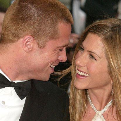 Brad Pitt beugrott Jennifer Aniston szülinapjára
