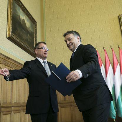 Orbán Viktor Matolcsy György újbóli kinevezését fogja javasolni