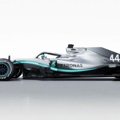 Bemutatta, milyen autóval száguld idén a címvédő F1-csapat