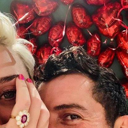 Orlando Bloom Valentin-napon jegyezte el Katy Perryt