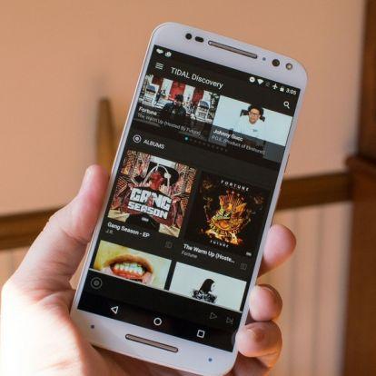 Spotify-osodik a TIDAL