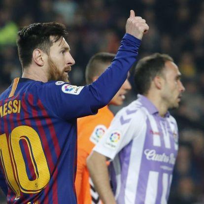 Egy tizenegyest berúgott, egyet kihagyott Messi – újra nyert a Barcelona!