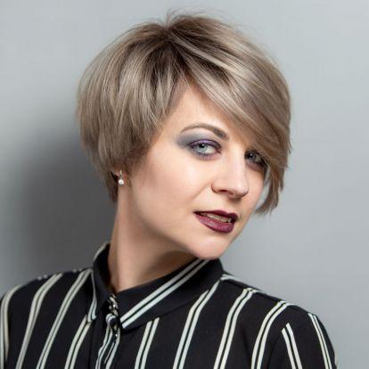 Gyors tipp, ha nem áll sehogy a rövid haj: csinos frizura egy perc alatt