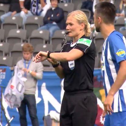 Nő volt a bíró, nem közvetítették a Bundesliga-mérkőzést Iránban