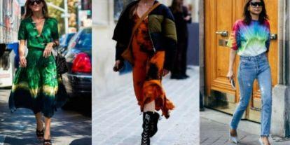 A legszínesebb trend: így viseld a batikolt darabokat