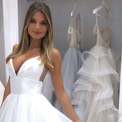 Ilyen menyasszonyi ruhát szeretne Horváth Cintia