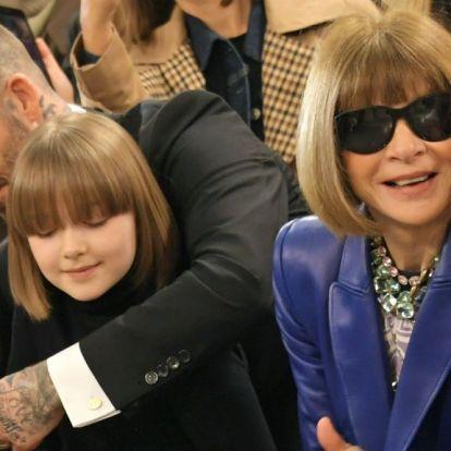 Anna Wintour-frizurát vágtak Beckhamék kislányának