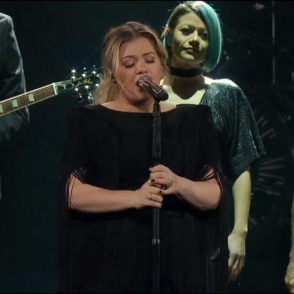 Kelly Clarkson feldolgozta a Csillag születik slágerét, az eredmény azonnali libabőr