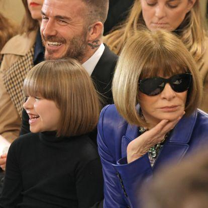 Harper Beckham is követi az év kedvenc frizura trendjét