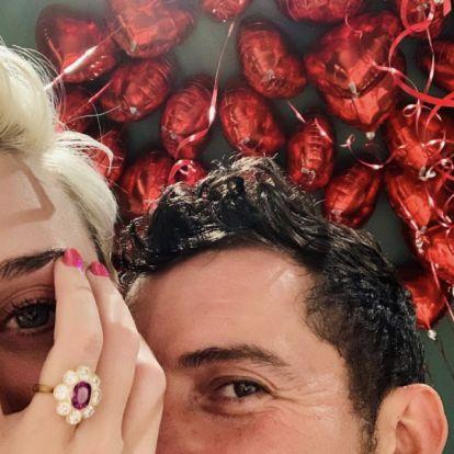 Jaj, Katy Perry eljegyzési gyűrűje nem az ő ujján díszeleg először